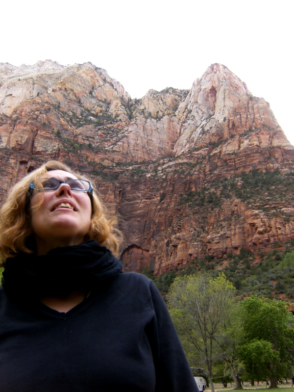 Salary Mom at Zion National Park